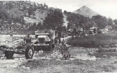 1944- Italie- 20 mai 44 la DFL couvre la DIA à l'attaque du Mont Leucio col part-Gaujac
