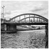 Crossing the bridge, Nancy Canal