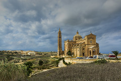 Ta' Pinu Church, Gozo photo by Pete Rowbottom - Pete37038
