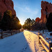 Morning walk in Garden of the Gods after a light snow storm overnight.