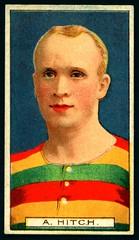 Cigarette Card - Footballer, A Hitch photo by cigcardpix