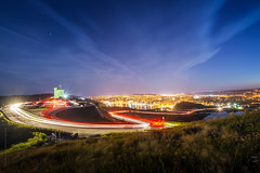 Signal hill #summer light trail, St. John's photo by tuanland