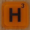 WORDS with friends letter H