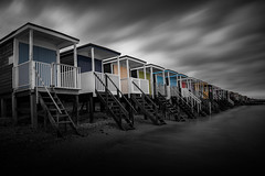 Huts-on-Sea photo by Jarrad.