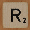Crossword dice letter R