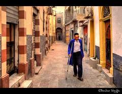 Old Man Walking ! photo by Bashar Shglila