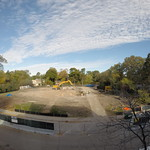 Construction site as of October 9, 2014.