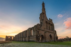 Byland Abbey Sunrise photo by Christopher Combe Photography