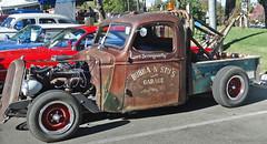 Rat Rod Tow Truck, Vet Car Show, CA 10-14 photo by inkknife_2000 (3.5 million + views)
