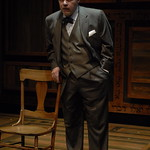 Craig Spidle (David Malter) in THE CHOSEN at Writers Theatre. Photo by Michael Brosilow.
