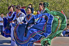 Mexican folk dance competition photo by Pejasar
