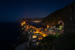 Vernazza at Night photo by Waldemar*