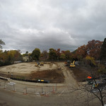 Construction site as of October 21, 2014.