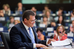 Hearings of candidate commissioners: Maroš Šefčovič under scrutiny at the European Parliament