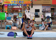 """""""occupy hong kong"""" photo by hugo poon - one day in my life"""