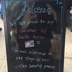 Is North Korea involved in the coffee brewing industry?