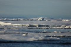 Ice Floes Prince Leopold Island Lancaster Sound Canada High Arctic photo by eriagn