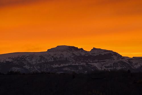 10/17/2014 - Sunrise on the Sleeping Indian