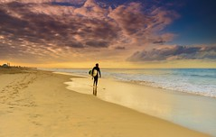 Some Coastal Magic- Sunrise at Huntington Beach...true California! photo by swazileigh/ Langman Lightscapes