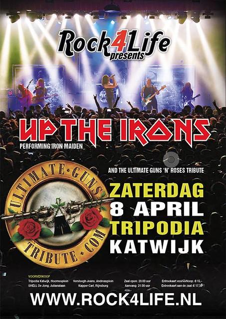 Guns'n'Roses & Up the Irons