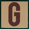 T-Shirt Printing Workshop letter G