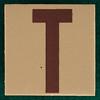 T-Shirt Printing Workshop letter T