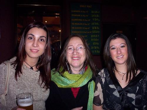 Aida, Rebeka y yo.
