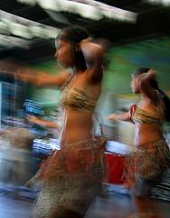 Dança mistica da Banda Beija-Flor