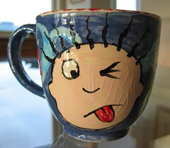 Mr. Grumpypants mug