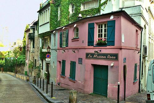 La maison rose de la Butte Montmartre