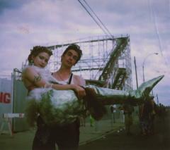 Pandora & Jack, Mermaid Day Parade, '98 photo by Theremina