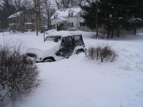 Buried Jeep
