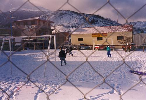 Futbol En La Nieve