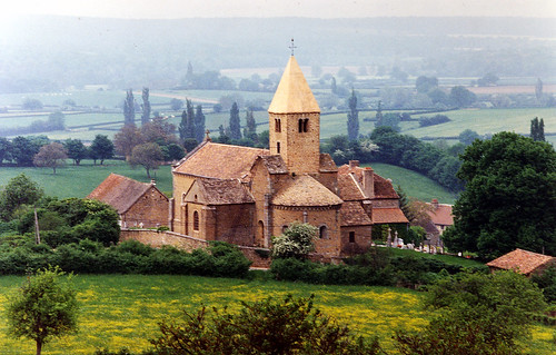 La Chapelle sur Brancion, Burgundy