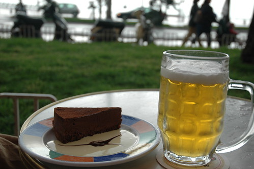 have a little cake with your beer