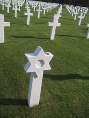 Star of David among Crosses