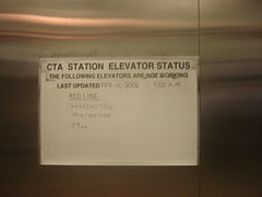 CTA Elevator Status