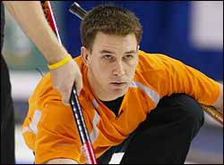 Brad Gushue of the rock, ROCKS!!!