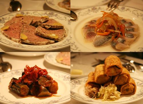 at Russian restaurant 01