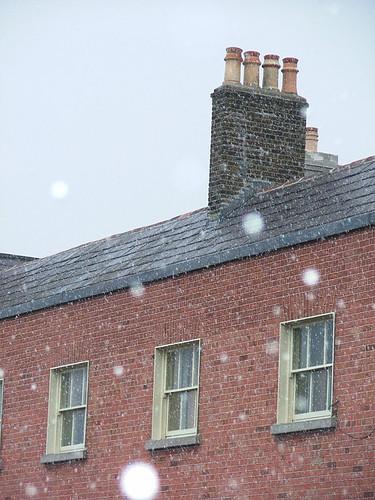 Not enough snow for a snow ball