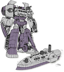 Transformers: Evolution's Shockwave