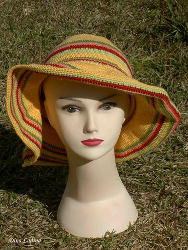 Chapéu amarelo/yellow hat