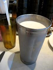 bucket of milkshake