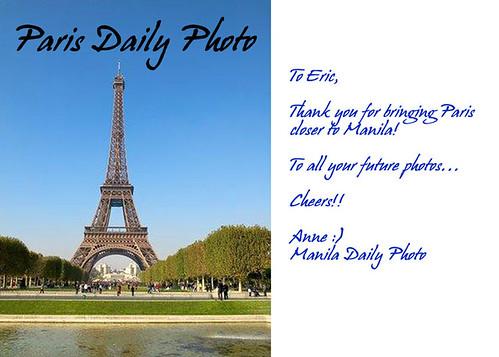 Bon anniversaire, ParisDailyPhoto!