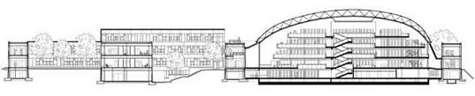Plano Biblioteca Berlin Foster