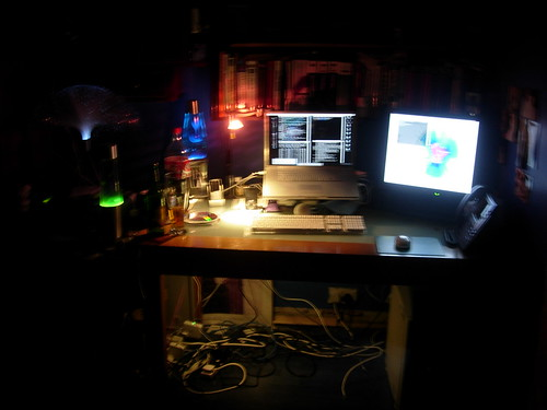 My Desk, in preferred lighting