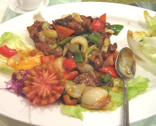 Lamb Chop in Mandarin Sauce