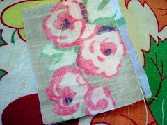 Log Cabin Pillow Tutorial: Piecing 1