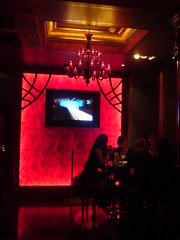 Interior of Paris bar in Le Monde on Edinburgh's George St