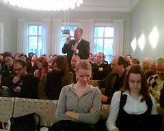 Debatt i Oslo om bloggning